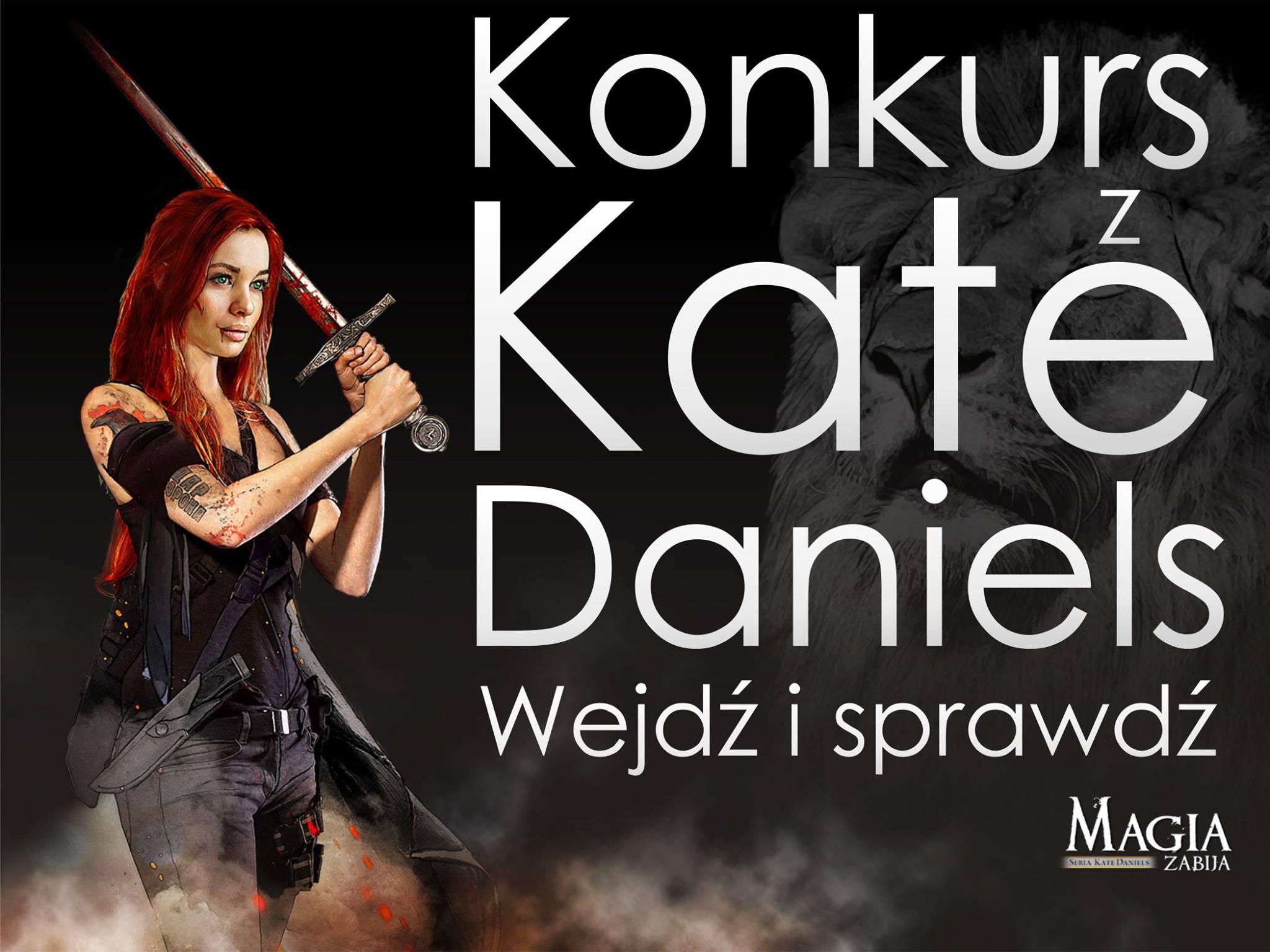 Konkurs z Kate Magia zabija