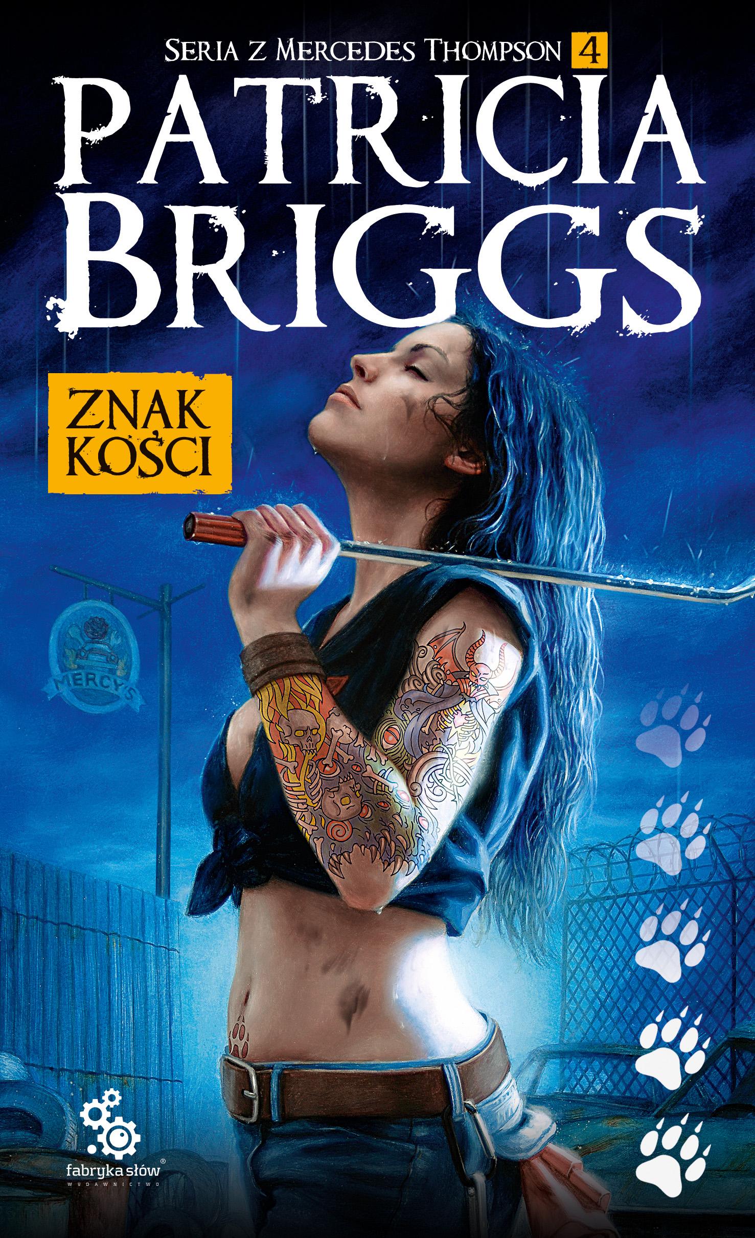 Patricia Briggs Znak kości wznowienie