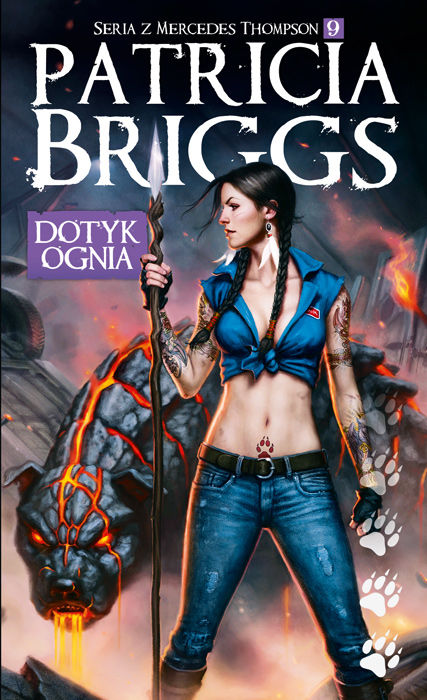 Dotyk ognia - Patricia Briggs - seria Mercy Thompson