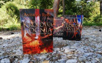 Anthony Ryan - Kruczy cień - Pieśń krwi Lord Wieży Królowa ognia