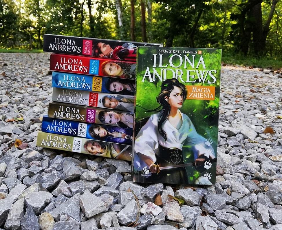 Ilona Andrews Kate Daniels Magia niszczy wskrzesza kasa parzy uderza zabija krwawi urban fantasy